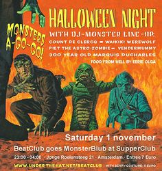 Amsterdam BeatClub: Halloween 2003 at Supperclub