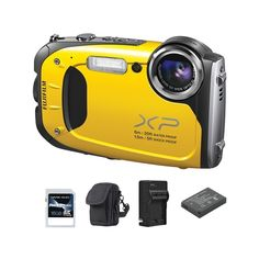 The�FinePix XP60 is a compact rugged camera that is waterproof to 19.7 feet for up to 120 minutes IPX8 rating, shockproof to 4.9 feet (MIL-STD-810F-616.5), freezeproof to 14 degree Farenheit, dustproof IP6X rating and more