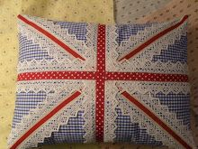 crochetef union jack pattern | It looks really cute and seems easy :) Exactly what I can make for my ...