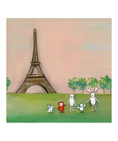Take a look at this We're in Paris Print  by Creative Thursday on #zulily today!