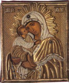 Донская икона Божией матери.1887 г