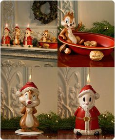 Billedresultat for disney jul Merry Christmas To All, Disney Christmas, Christmas Ornaments, Disney Rooms, Holiday Fun, Holiday Decor, Homemade Art, Chip And Dale, Disney Dream