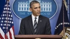 """President Obama: """"Nobody gets to threaten the full faith and credit of the US just to extract political concessions"""""""