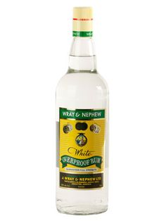After living in Jamaica, this Wray & Nephrew overproof rum is a requirement for my home.