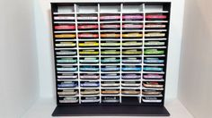 DIY Ink Pad Storage: Easy, Cheap, and AWESOME by CraaftyPaws                                                                                                                                                                                 More