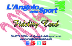 E' arrivata la nuova Fidelity Card, richiedila in cassa ed avrai un mari di vantaggi! # 5%+10% di #sconto minimo sempre # 5% aggiuntivo durante saldi o promozioni # 5% bonus acquistando una gift card # Buoni spesa raggiungendo soglie punti # Newsletter per fruire di promozioni e saldi in anteprima www.facebook.com/angolodellosport