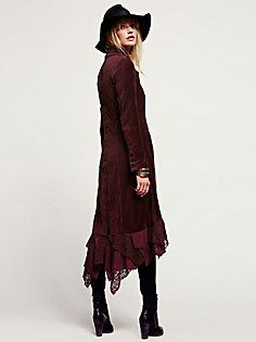 Great Lengths Lacey Corduroy Jacket