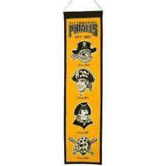 Pittsburgh Pirates MLB Heritage Banner NEW