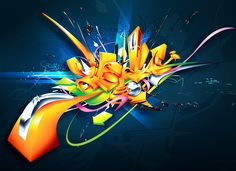 The Landing by on DeviantArt Graffiti Writing, Graffiti Tagging, Graffiti Alphabet, Graffiti Lettering, Daim Graffiti, Best Graffiti, Street Art Graffiti, Graffiti Pictures, Graffiti Artwork