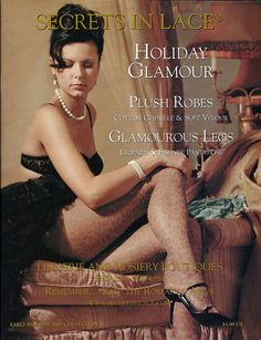 Secrets In Lace Catalog Cover Early Holiday 2000