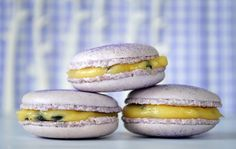Passion Fruit Macaroons... this looks right up one of my friends ally