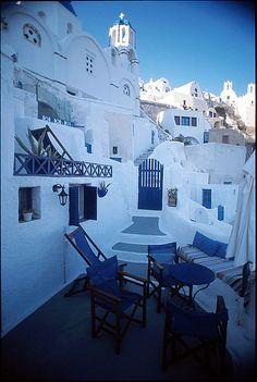 Blue Cave House Oia | Casa Sofia (traditional cave house) [click for more photos] | Flickr ...