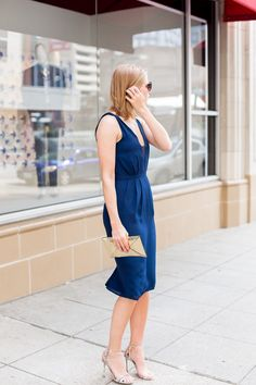 Nice in Navy - A PIECE of TOAST // Lifestyle + Fashion Blog // Dallas