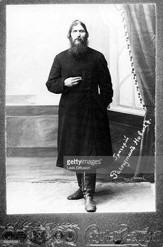 A portrait of Grigori Rasputin ca 1916 in Russia.                                                                                                                                                                                 More