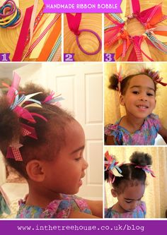 Ribbon Hair Bobble DIY tutorial   by In the Treehouse copy