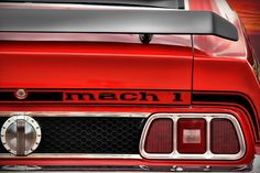1973 Photograph - 1973 Ford Mustang Mach 1 by Gordon Dean II
