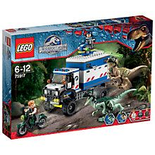Buy LEGO Jurassic World 75917 Raptor Rampage Online at johnlewis.com