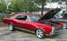 A 1968 Pontiac GTO at the 8/10/12 Morton Grove Classic Car Show.