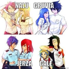 Read Fairy Tail Academy (Jerza Gale Gruvia Nalu), a 4 part story with 3201 reads and 93 votes by teardrop2
