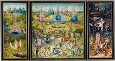 The Garden of Earthly Delights, Hieronymus Bosch [1490-1511]