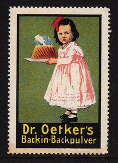 42963 / advertising brand - Dr. Oetker's - backin baking powder | eBay
