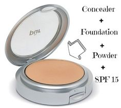 Pur Minerals 4-in-1 Pressed Mineral Foundation...This is what I use. Color: Light Tan