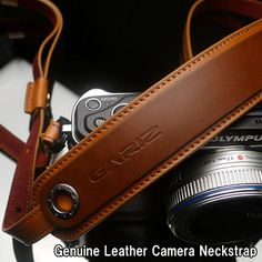 GARIZ/ゲリズGenuine Leather Camera Neckstrap本革カメラストラップXS-CHLSNLB/ライトブラウン【楽天市場】
