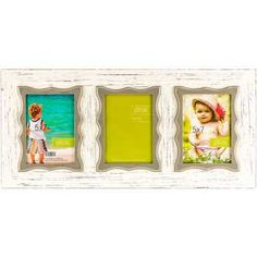 Get 5 x 7 White & Gray 3-Opening Collage Frame online or find other Collage Frames products from HobbyLobby.com