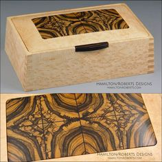 Decorative Boxes : Bird's Eye Maple Box -Read More –
