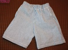 Simple pattern, clear instructions.  I think that these shorts are equally nice for girls and adults.
