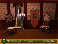 simonettaC's Medieval quilted cloth