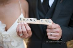 wedding scrabble thank you .. something different