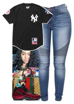 """""""Untitled #216"""" by shaymacc ❤ liked on Polyvore featuring Supreme and NIKE"""