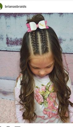 Cute Kids Hairstyles for Girls Hair Style Girl hair styles for girls braids Girls Hairdos, Cute Little Girl Hairstyles, Cute Girls Hairstyles, Kids Braided Hairstyles, Protective Hairstyles, Teenage Hairstyles, Cute Hairstyles For Toddlers, Easy Hairstyles, Cute Girl Hair