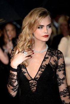 The 10 prettiest celebrity hairstyles ever from Cannes Film Festival: Cara Delevingne, 2013