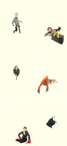 ad series by photographer Sandro Sodano for Paul Smith...as posted by 'ohjoy'