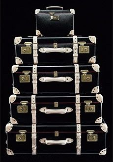 There are few things more beautiful than a suite of fine luggage! Globetrotter bespoke leather