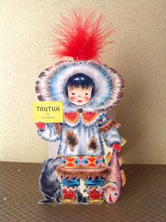 Tautuk from Alaska Hallmark's Dolls Of The Nations from 1949!
