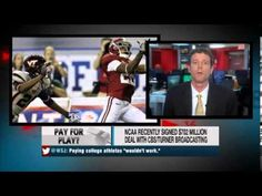 Should student athletes get paid? In this show, it is described how serious the NCAA handles the illegal payment of athletes nowadays for even the smallest things that are not true. Johnny Manziel got in trouble for supposedly signing autographs for money but was then found innocent.