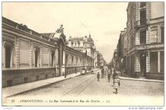 rue Nationale à la rue du Moulin