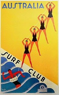 Details about Surf Club Lifesavers, Australia. Vintage Travel Poster print by… Retro Poster, Vintage Travel Posters, Party Vintage, Vintage Surf, Vintage Hawaii, Vintage Cat, Vintage Ephemera, Vintage Style, Posters Australia