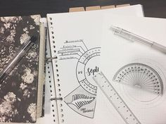Drawing up the new month! I quite liked the wheel calendar look so I'm gonna give it another go for October  feat. my diary. In obsessed with the black and white floral! I use this to write random journal entries, goals, to do lists ... and just anything on my mind really  #nursingstudent #stationery #floral #studygram #studymotivation #studyblr #minimal #bujo