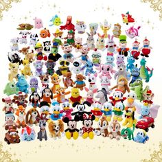 Walt Disney 110th Anniversary Plushes!!!!WANT