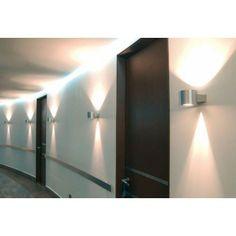 Delta Light Orbit HP alu Wandlamp aluminium van
