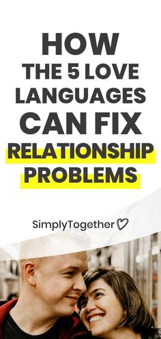 All couples have to face problems at some point in their relationship. Here you'll find tips on how we used the 5 Love Languages to fix our relationship. Relationship Problems, Relationship Advice, Relationships, Gary Chapman, 5 Love Languages, Fix You, New Love, Self Help, Couple Goals