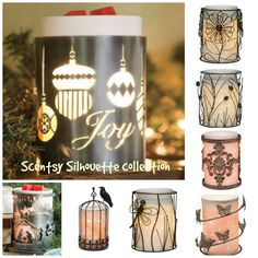 Check out the Scentsy Silhouette Collection today at www.lepeacockrouge.scentsy.fr