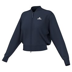Adidas Stella McCartney Womens Barricade Tennis Jacket M Navy