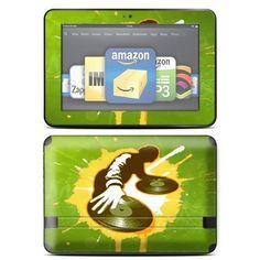 """Protective Skin Decal Cover for Amazon Kindle Fire HD 8.9 inch Tablet Sticker Skins Sonic DJ by MightySkins. $14.99. Mightyskins are removable vinyl skins for protecting and customizing your portable devices. They feature ultra high resolution designs, the perfect way to add some style and stand out from the crowd. Mightyskins protect your Kindle Fire HD 8.9"""" with a durable high gloss laminate that protects from scratching, fading and peeling. With our patented adhesive tec..."""