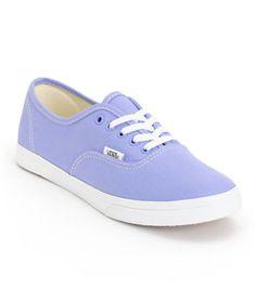 Vans Authentic Espadrille Women US 6 Purple Skate Shoe B017JP9RN4