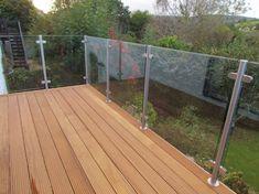 50 Incredible Glass Railing Design for Balcony Fence Glass Balcony, Balcony Deck, Balcony Railing, Deck Railings, Glass Pool, Steel Railing, Decking Glass Balustrade, Glass Handrail, Frameless Glass Balustrade